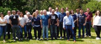 Les associés d'Elan bâtisseur, juin 2016, Monterfil, CAE d'Ille et Vilaine batiment